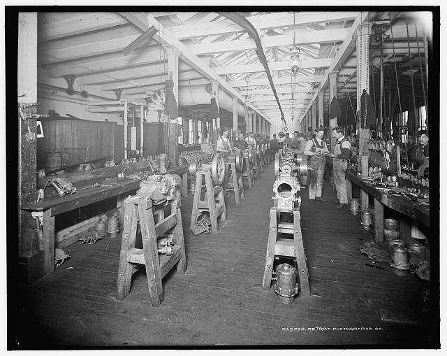 [Assembling room, Leland & Faulconer Manufacturing Co., Detroit, Mich.]