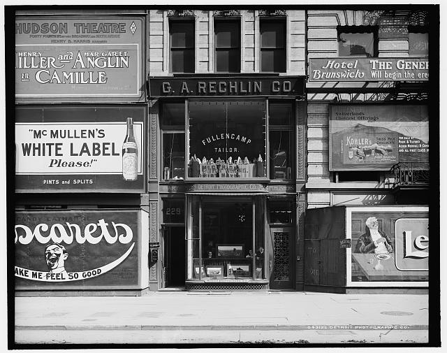 [Detroit Photographic Company, 229 Fifth Avenue, N.Y., view of store]