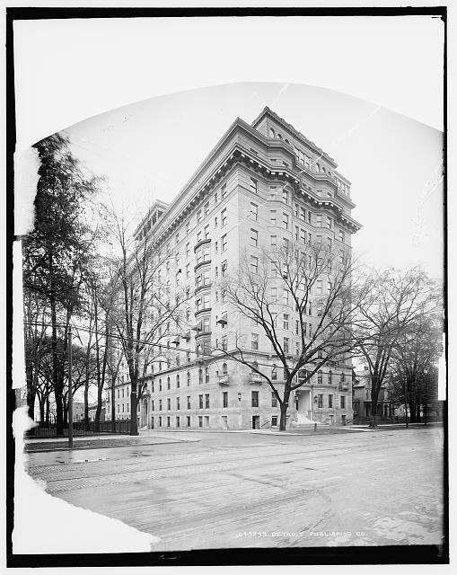 [Pasadena Apartments, Detroit, Mich.]