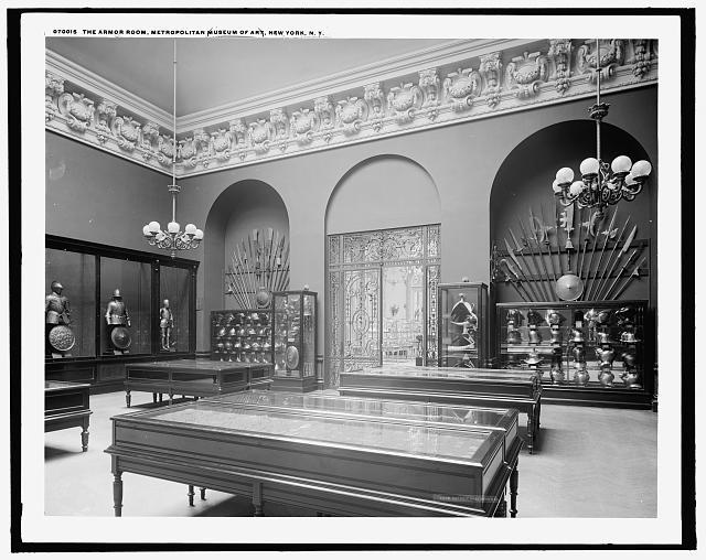 The Armor room, Metropolitan Museum of Art, New York