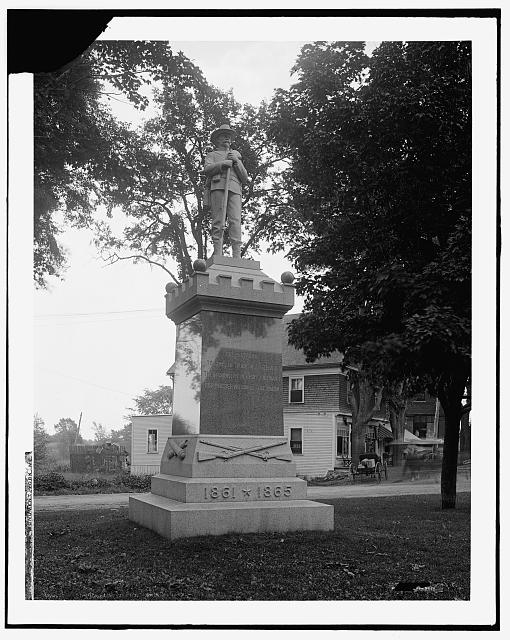 Soldiers' Monument, York, Me.