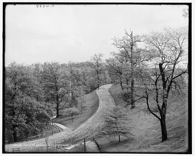 Road in Riverview Park, Pittsburg, N.S. [i.e. North Side], Pa.