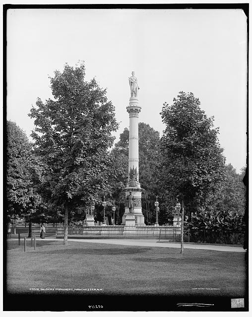 Soldiers' Monument [Monument Square], Manchester, N.H.
