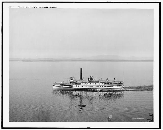 Steamer Chateaugay on Lake Champlain