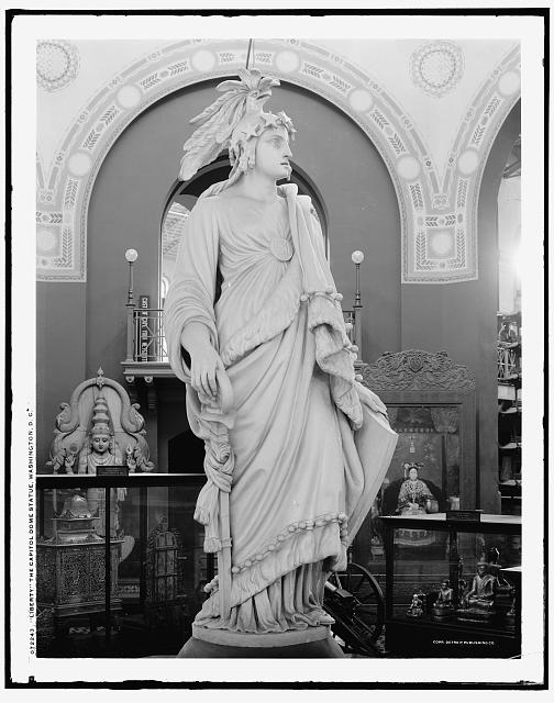 Liberty [i.e. Freedom], the [United States] Capitol dome statue