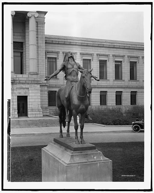 The Appeal to the Great Spirit, Cyrus E. Dallin, Boston, Mass.