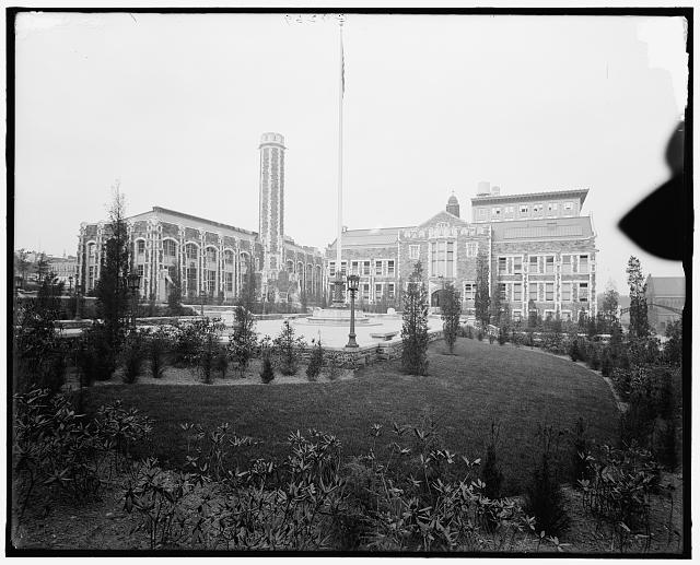 [College of the City of New York, the campus, New York, N.Y.]