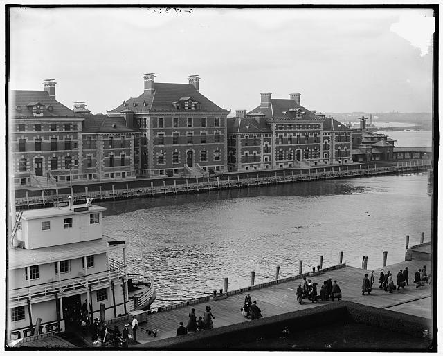 [New York, N.Y., immigrants' landing, Ellis Island]