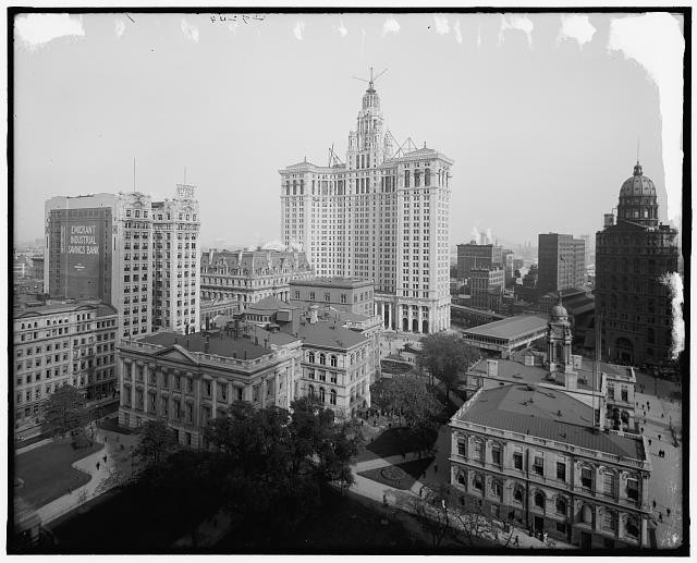 [New Municipal Building, New York, N.Y.]