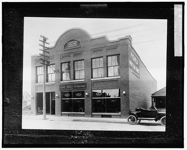 Ford Motor Co. [showroom], Calgary branch