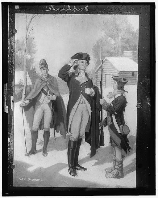 [Washington at Valley Forge]