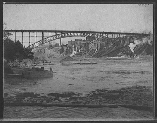 [International (Upper Steel Arch) Bridge, Niagara, N.Y.]