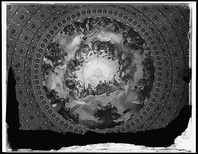 [Apotheosis of Washington, fresco in the canopy of the dome, Rotunda of the United States Capitol]