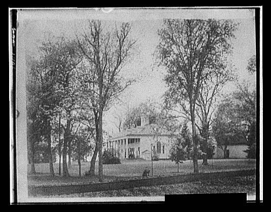 [The Mansion, north side, Mt. Vernon]