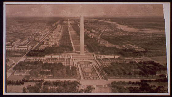 [View of Washington Monument and Mall]