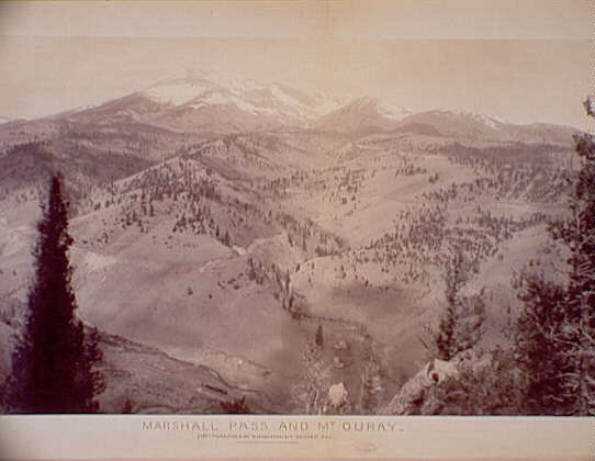 Marshall Pass and Mt. Ouray