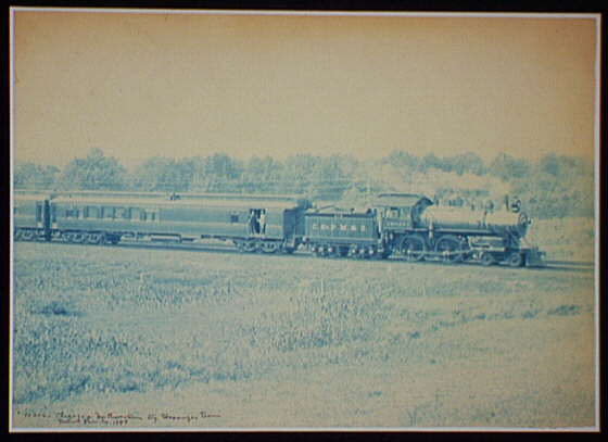 Chicago & Northwestern Ry. Passenger Train.