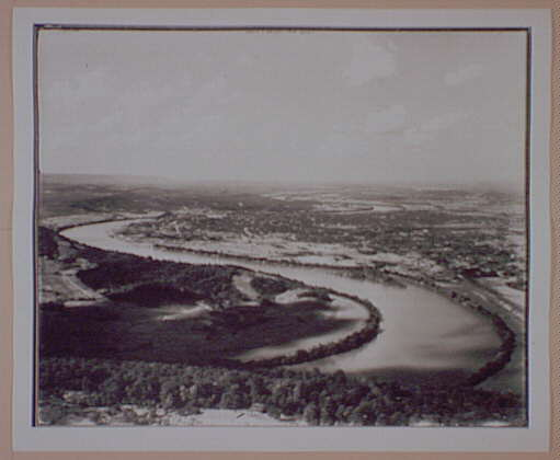 [Chattanooga and the Tennessee River, from Lookout Mountain]