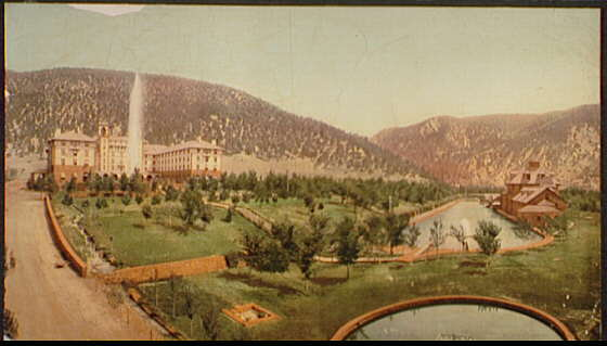 Hotel Colorada [i.e. Colorado], Glenwood Springs, Col.
