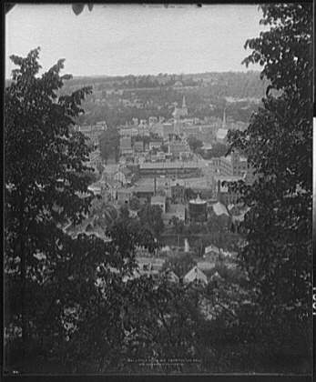 """Little Falls, N.Y., from the """"log roll"""""""