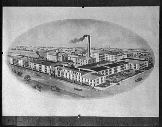[Lee Paper Company manufacturing plant]
