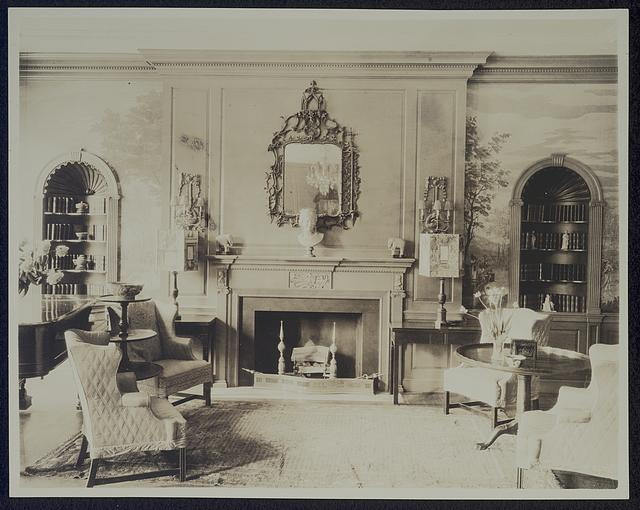 [Anne Morgan House, 3 Sutton Place, New York, New York. Drawing room]