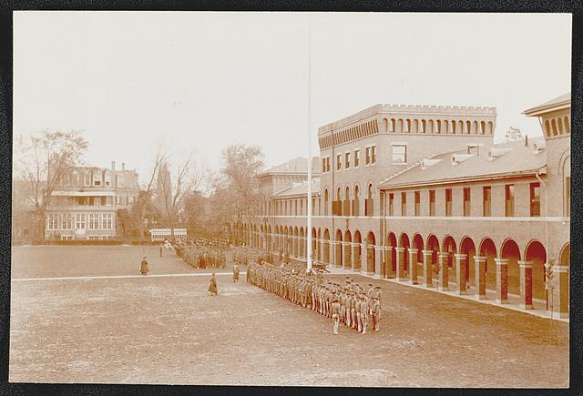 Barracks parade grounds, Marine Barracks, Washington, D.C.