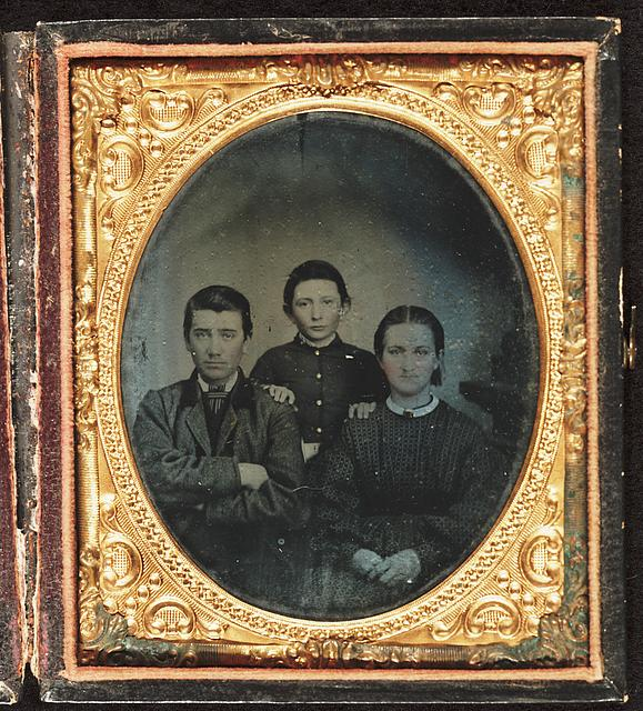 Calvin, William T., and Mary Hornaday, taken about 1860