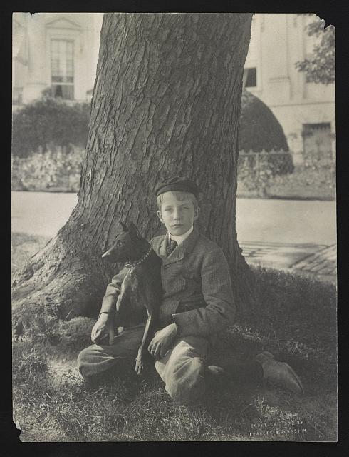 Kermit Roosevelt and his dog Jack