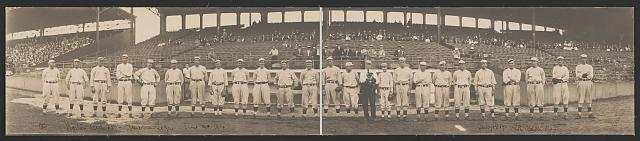 Boston Red Sox, American League, Aug. 19, 1914