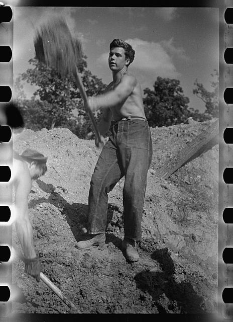 [Untitled photo, possibly related to: CCC (Civilian Conservation Corps) boys at work, Prince George's County, Maryland]