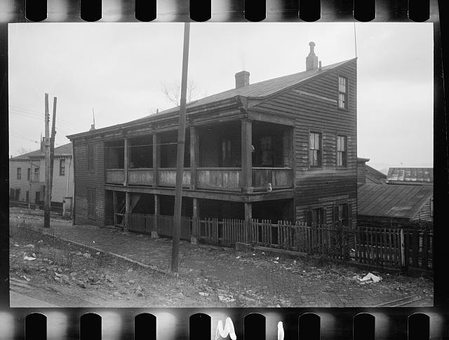 [Untitled photo, possibly related to: Typical wood frame house, Hamilton County, Ohio]