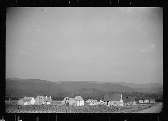 [Untitled photo, possibly related to: Tygart Valley, West Virginia]