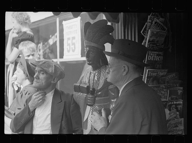 [Untitled photo, possibly related to: Spectators at sesquicentennial parade, Cincinnati, Ohio]
