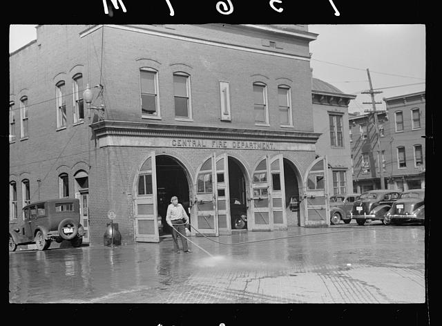 Fire department, Cumberland, Maryland