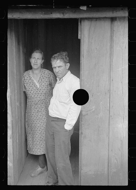 [Untitled photo, possibly related to: Coal miner and wife, Kempton, West Virginia]