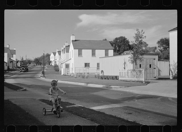 [Untitled photo, possibly related to: Labor Day, Greendale, Wisconsin]