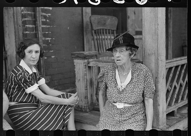[Untitled photo, possibly related to: Ladies who live in rooming house, St. Paul, Minnesota]