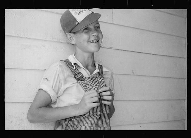 One of the children of the Dyess Colony Project who is a 4-H Club member, Mississippi County, Arkansas