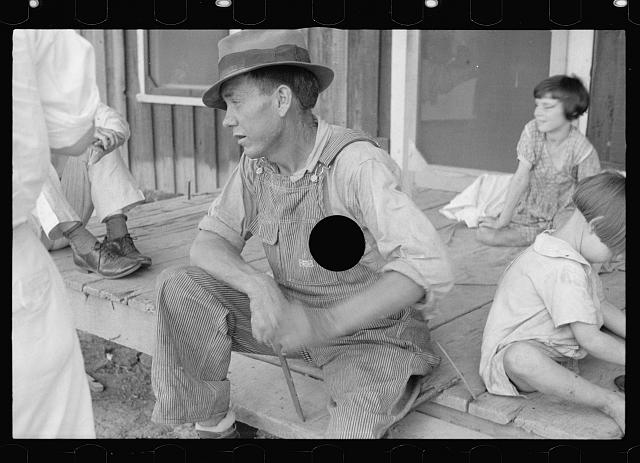 [Untitled photo, possibly related to: Daughter of sharecropper, Mississippi County, Arkansas]