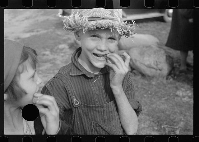 [Untitled photo, possibly related to: One of the Corbin boys, Shenandoah National Park, Virginia]