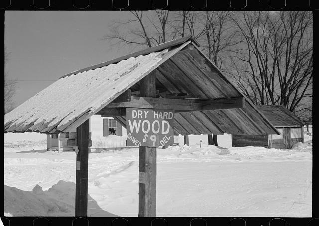 Woodshed, Coos County, New Hampshire