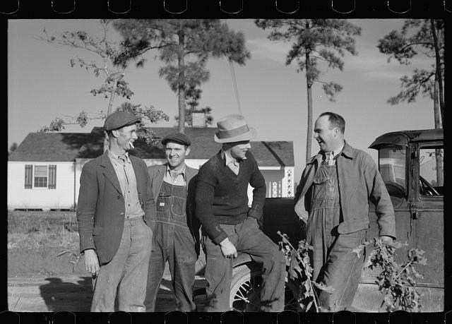 Group of homesteaders, Penderlea Farms, North Carolina