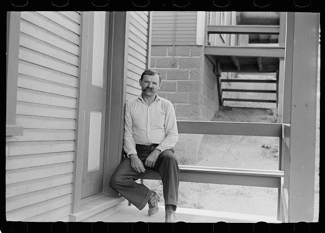 A Polish steelworker, Aliquippa, Pennsylvania