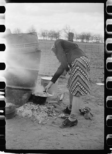 [Untitled photo, possibly related to: Evicted sharecropper, New Madrid County, Missouri]