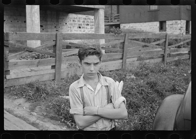 Miner's son, Pleasant Unity, Westmoreland County, Pennsylvania