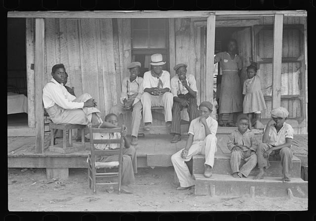 Children of sharecroppers, Little Rock, Arkansas