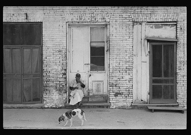 Scene in lower Natchez, Mississippi