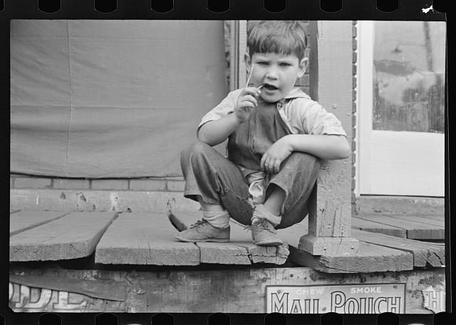 Young resident of Omar, West Virginia