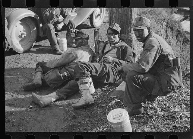 Group of coal miners, Williamson, West Virginia